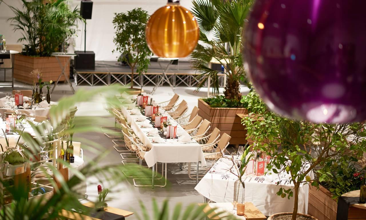 Firmenveranstaltungen, Busniess-Events, Hochzeit und Familien-Feiern oder Partys in der Orangerie Kehl